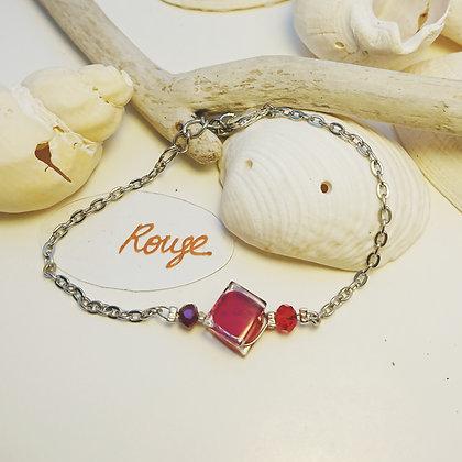 Bracelet • pixel • Rouge