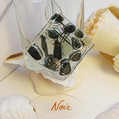 Collier • Eclats •Noir