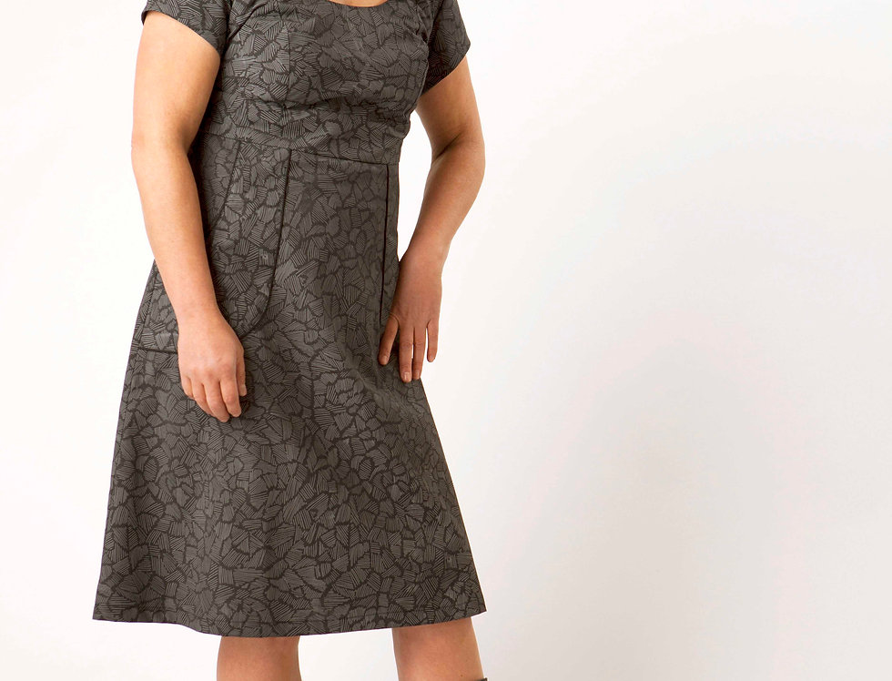 Frances Dress with Stix print