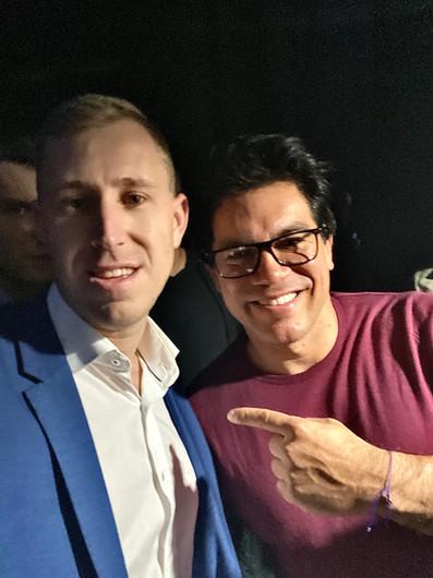 Ken Mack with Tai Lopez