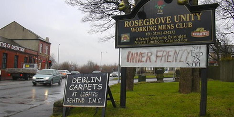 Saturday Car Meet - Rosegrove Unity Club, Burnley
