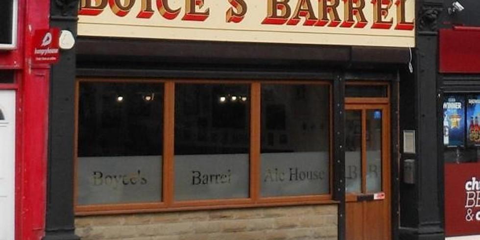 Wednesday Evening Walk - Boyce's Barrel, Padiham