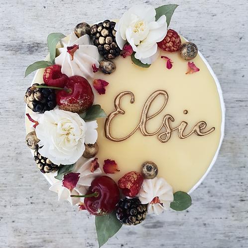 Celebration cake extras