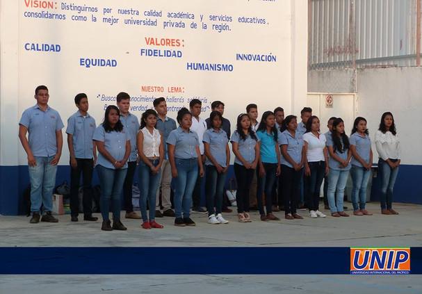 Estudiantes de la UNIP
