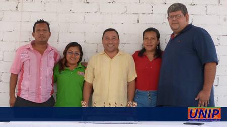Estudiante, Catedráticos y Rector de la UNIP