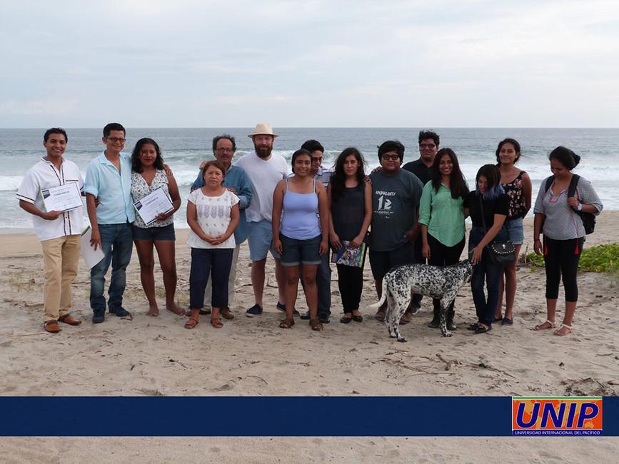 Participantes del curso en Casa Wabi