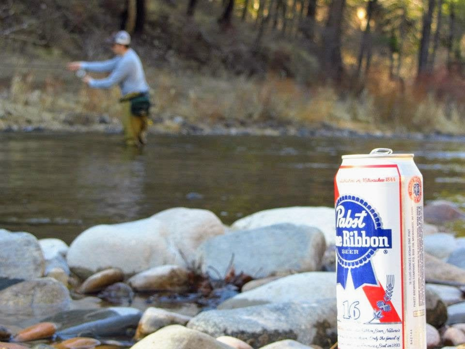Fishin' and drinkin'