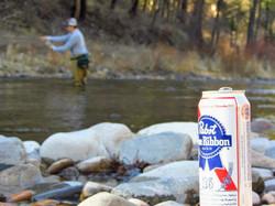 Fishin' and drinkin'