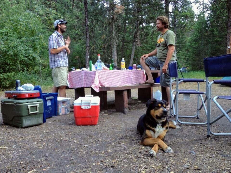 Camping fish tales