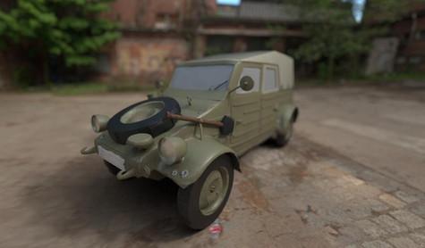 Kubbelwagen Model
