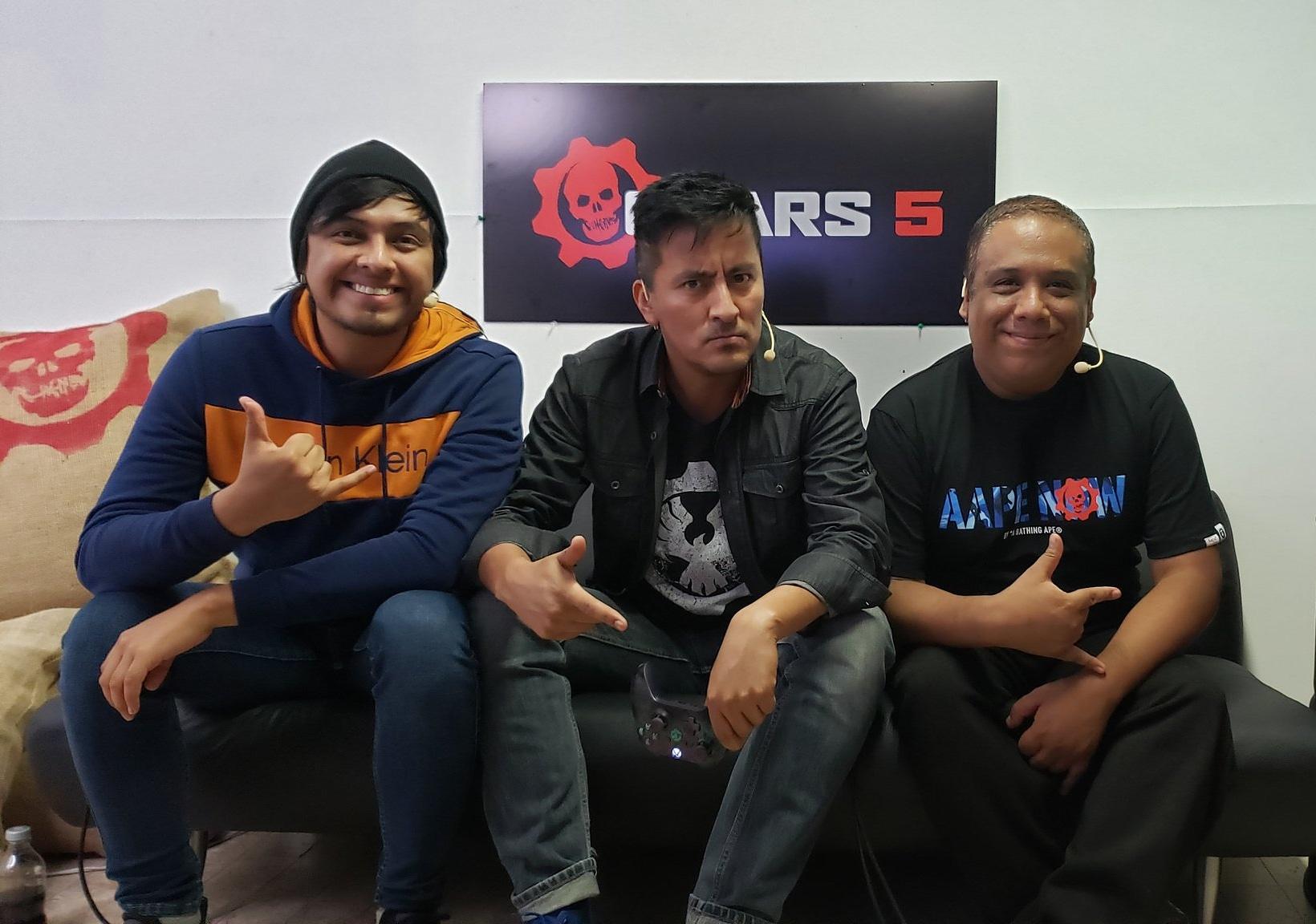 Entrevista en xbox lanzamiento gears