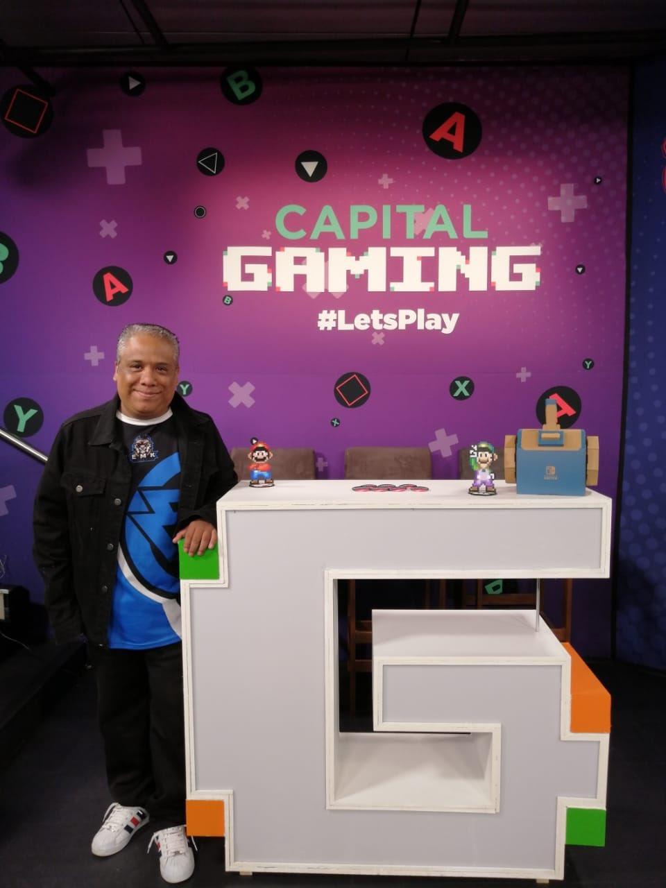 En los estudios de Capital Gaming