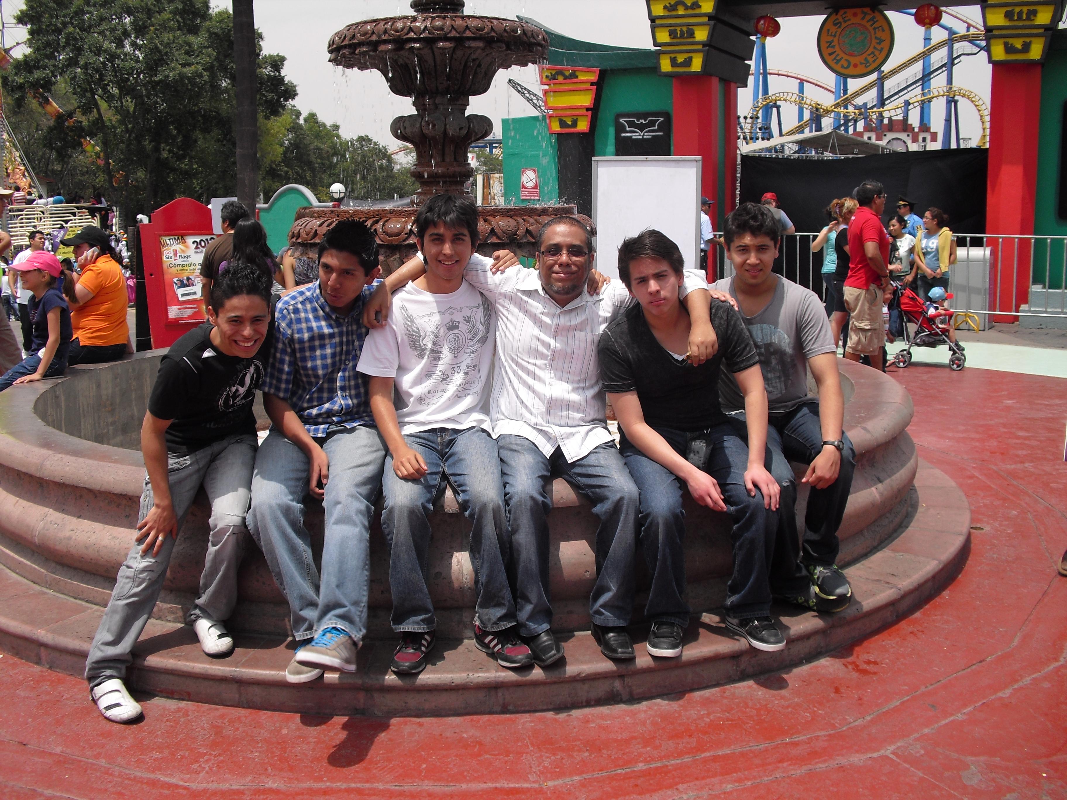 Con Seguidores Evento SixFlags 2012