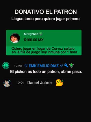 DONATIVO SOY EL PATRÓN