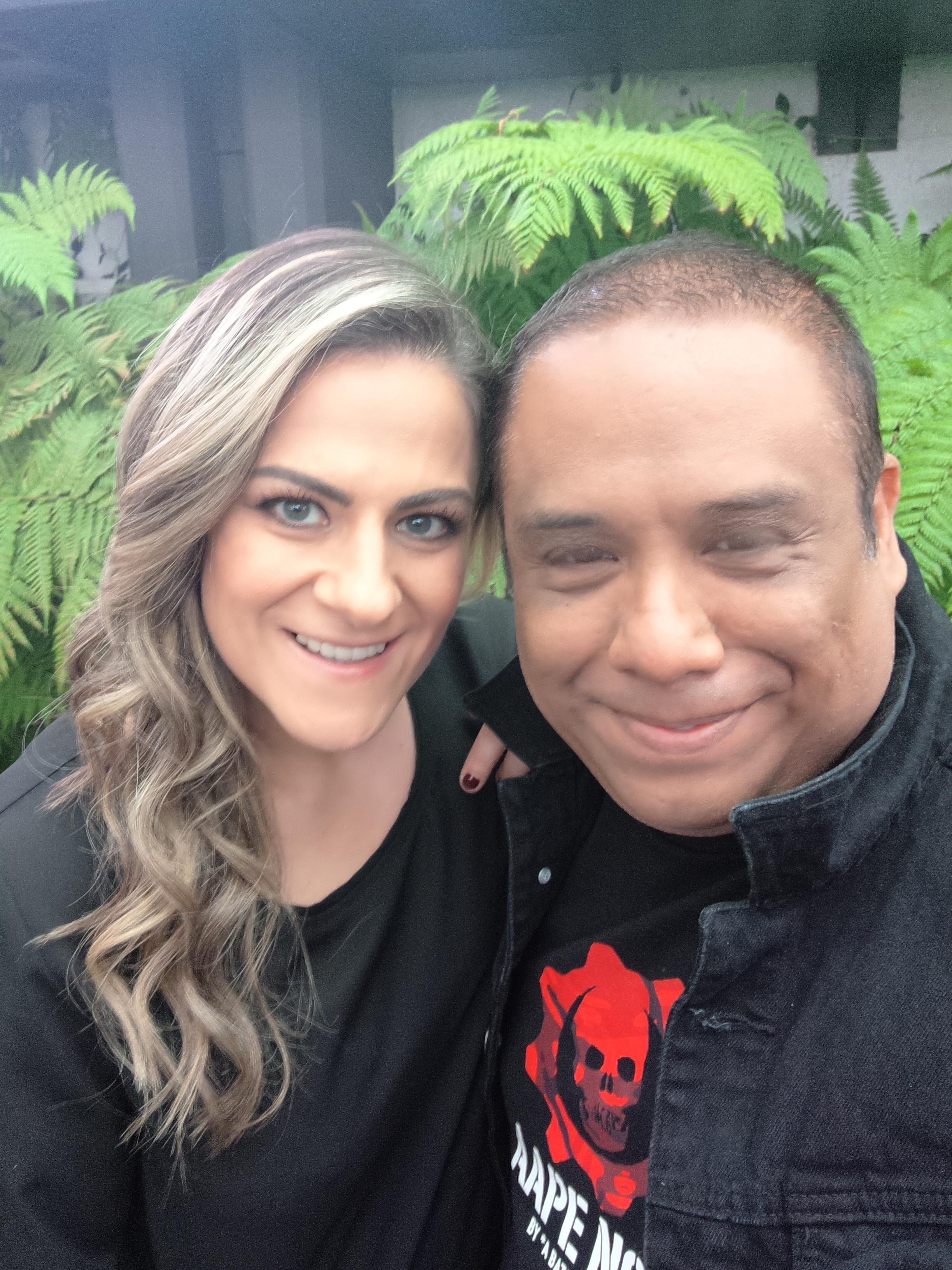 Con Naxla en TV Azteca