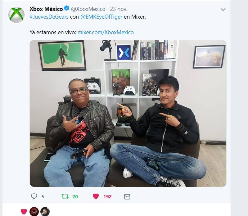 Entrevista Xbox México