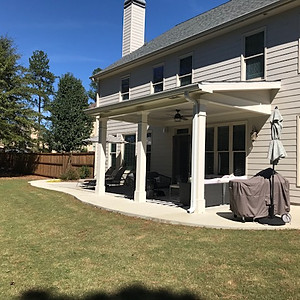 Grover Landscape Design & Covered Patio