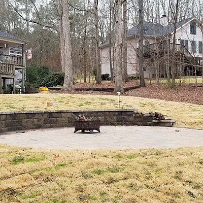 Moore Lake Oconee Panarama Paver Patio