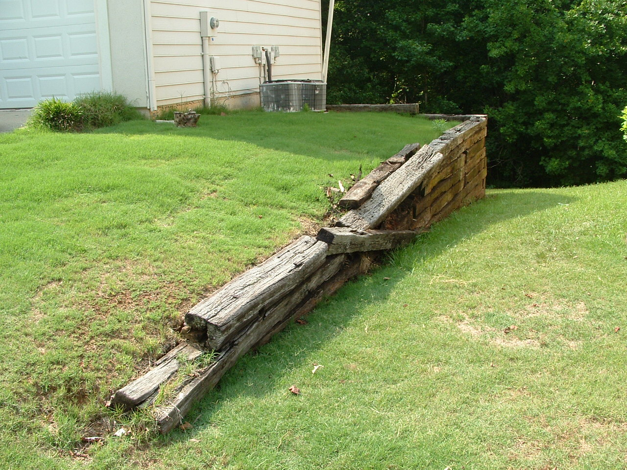 Why We Don T Use Railroad Ties In Our Landscaping Bailey