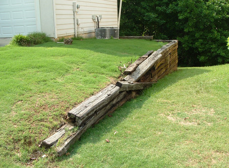 Why We Don't use Railroad Ties in Our Landscaping