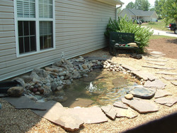 Sideyard Pond Monroe,Ga