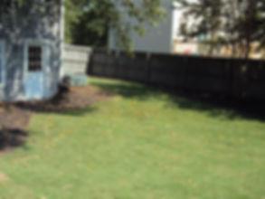 Bermuda sod installed in Loganville, Ga