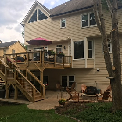 Klien Lawrenceville Deck & Paver Patio