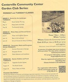 Garden Club in Snellville
