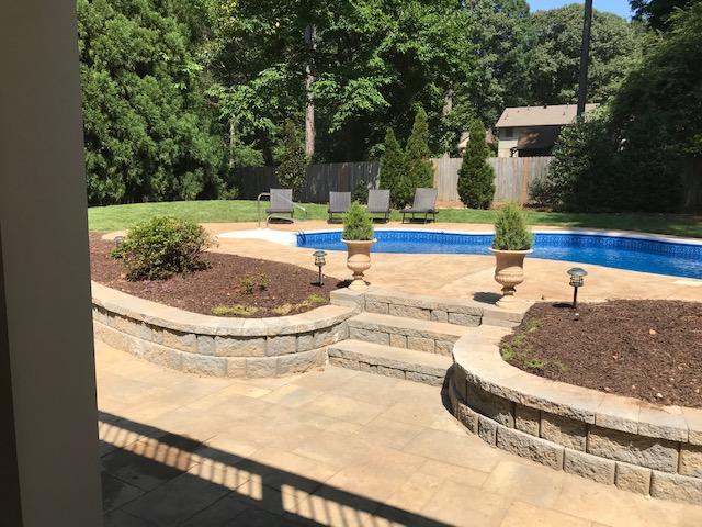 Buckland Landscape Design by Pool