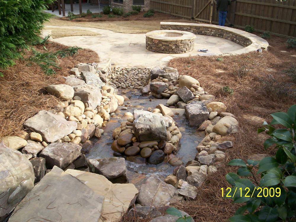 landscape design installed by bailey construction & landscape group, inc in loganville, Ga