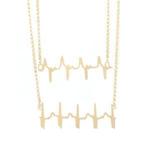 Original-Double-Heartbeat-Necklace-Yello