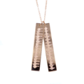Heartbeat-Double-Pendant-Necklace-Rose-G