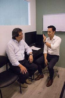 David Tran Chiropractor Singapore Reform Chiropractic posture ergonomics Posture
