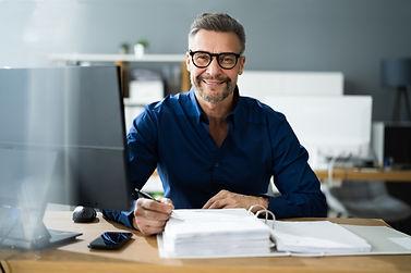 Tax Accountant Advisor Man Doing Sales Invoice Accounting.jpg