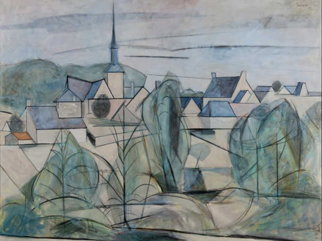 The existential state of In-betweenness – Joaquín Peinado's 'Landscape' (1962)
