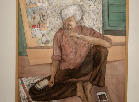 Artist or a consumerist??? – Nityan Unnikrishnan's enigmatic old man!