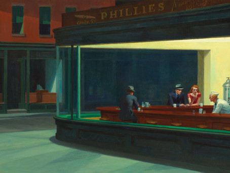 Stories from Art: Coffee and Chaos – inspired by Edward Hopper's Nighthawk