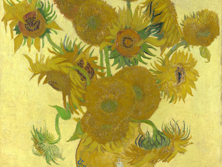 Stories from Art: The girl, sunflower and a little tea-party