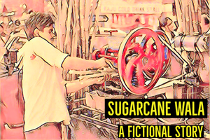 A fictional story of a sugar cane juice presser toiling hard under the sun in mumbai