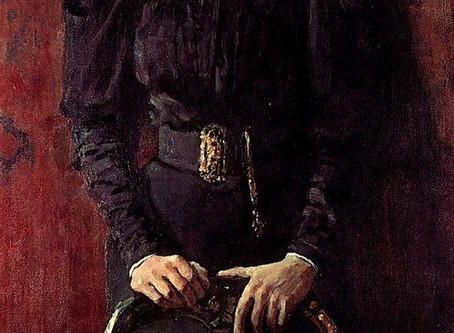 Poems from Art: TURMOIL inspired by a portrait of T.L. Tolstoya by Ilya Repin