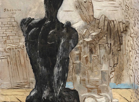 The Mysterious Archaeologists by Giorgio De Chirico – 1926