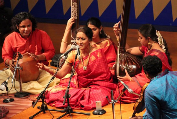 Carnatic music ensemble Ieclectica