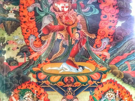 Travel Tales: Buddhist paintings in Namdroling Monastery