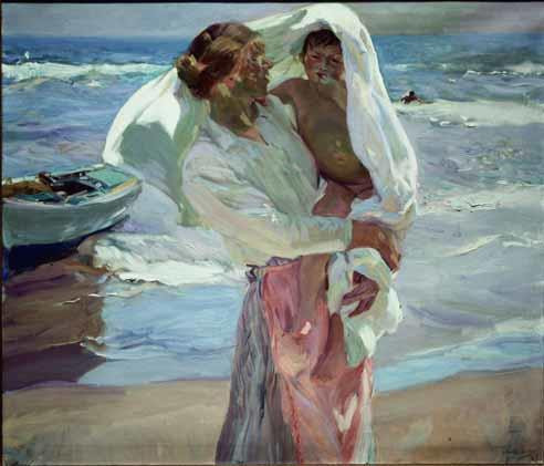 Joaquín Sorolla Bastida, The bathing Child