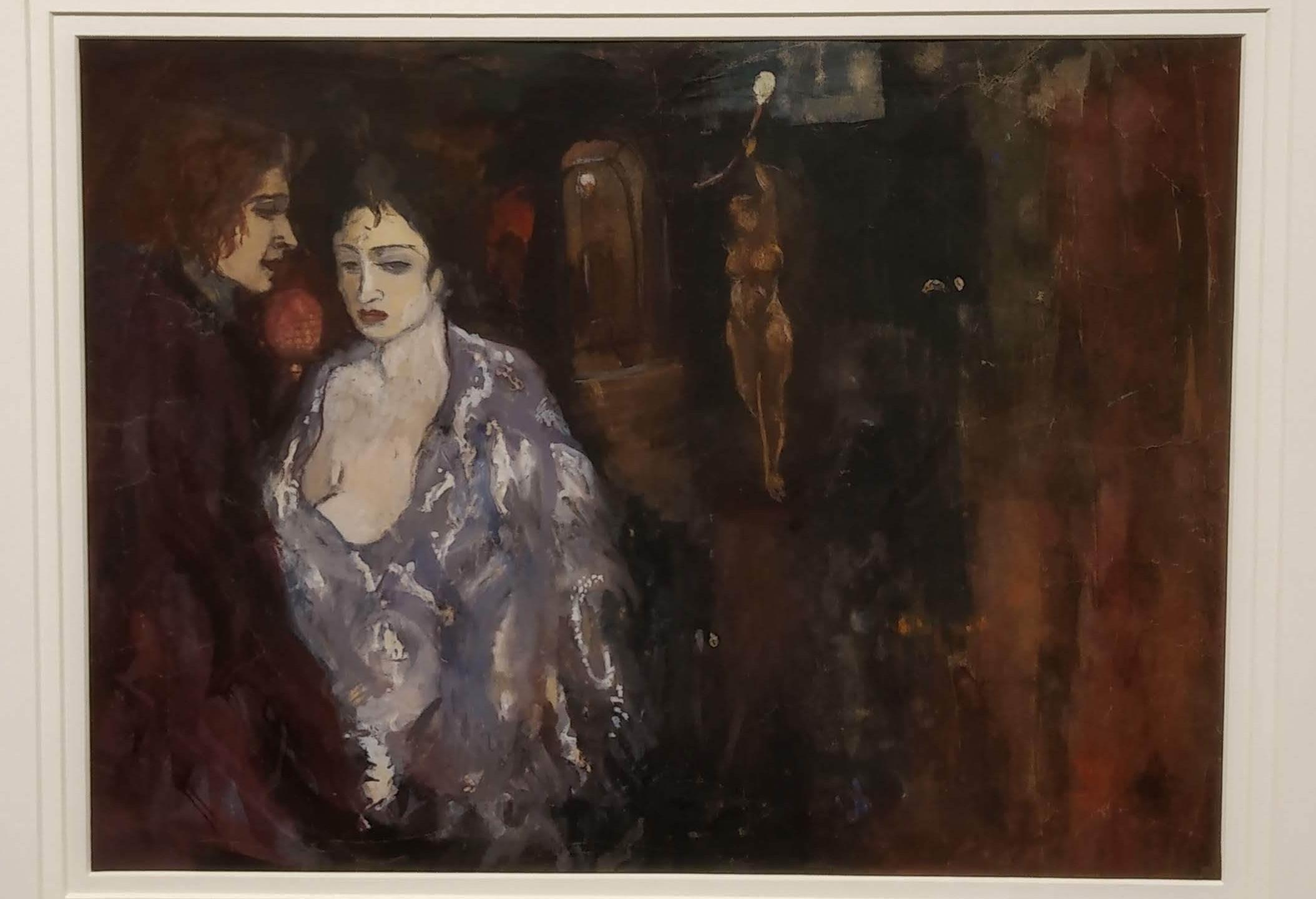 Amrita Shergill, Oil on Canvas, Akara Art