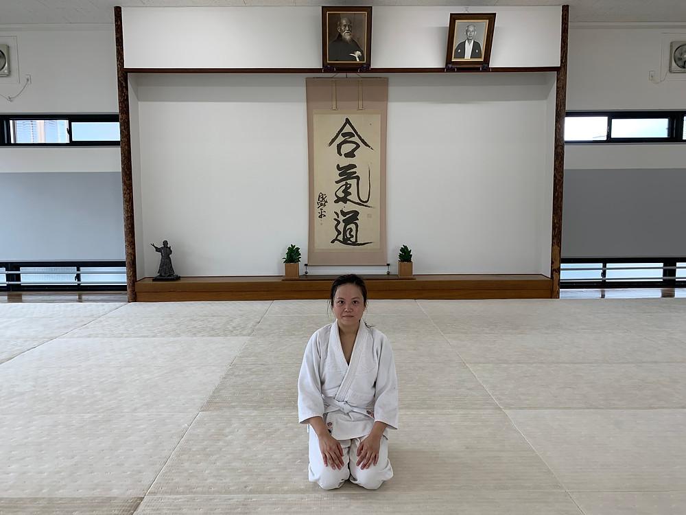 每一次到訪日本本部,都加深了我對合氣道的認識和了解。當中最深的感受就是學習受身。