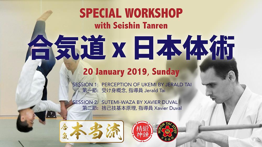 Aikido Hontoryu X Seishin Tanren Crossover Workshop