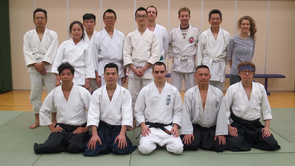 Hong Kong Aikido Hontoryu (Aikido) X (Aunkai) Seishin Tanren Dojo