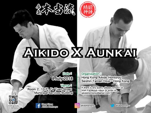 Special Workshop with Aunkai (July 2018) 合氣道 研習班