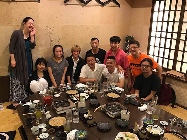 A wonderful dinner with Sugawara Shihan! This time is so precious talking to Sensei and have him advises!  Special thanks to Léti Sempai all the way the support and arrangement.